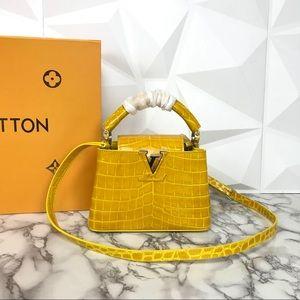 LOUIS VUITTON Capucines Mini Handbag